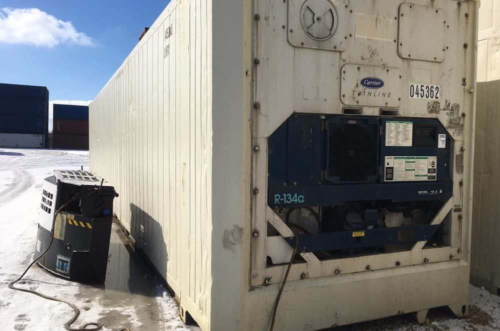 Рефконтейнер 45'PWRHC Carrier ML2i 2005 б/у