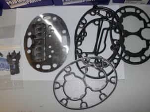 Клапанная доска с клапанами, арт 17-44109-00