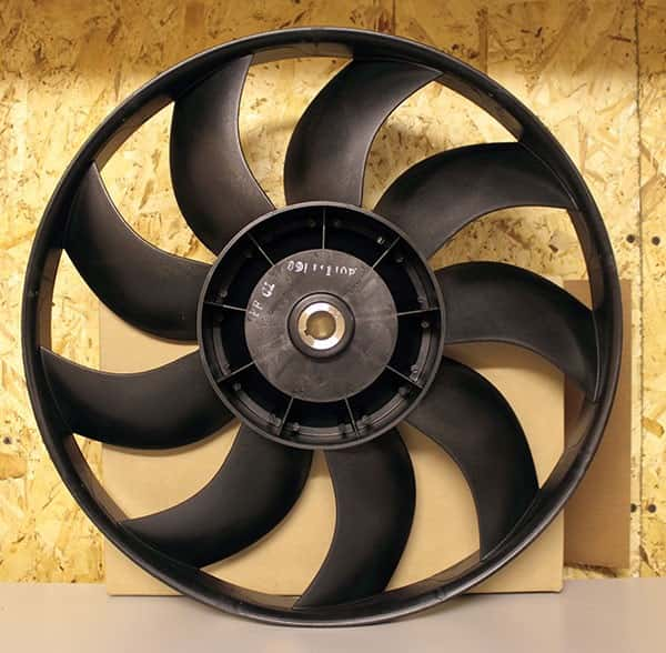 Крылатка вентилятора конденсатора, арт 38-00585-00